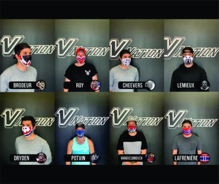 Masques de gardien de but